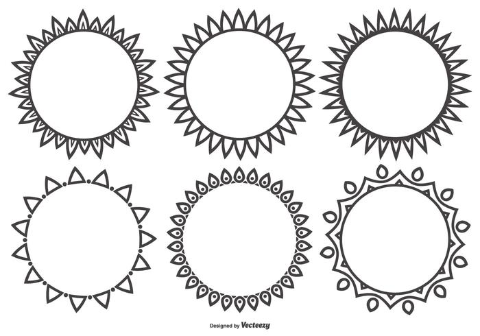 Decorative Vector Shapes Collection