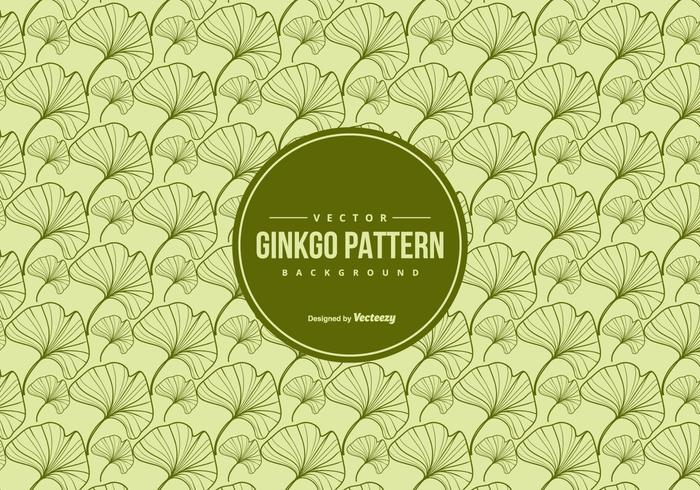 Ginkgo Seamless Vector Pattern
