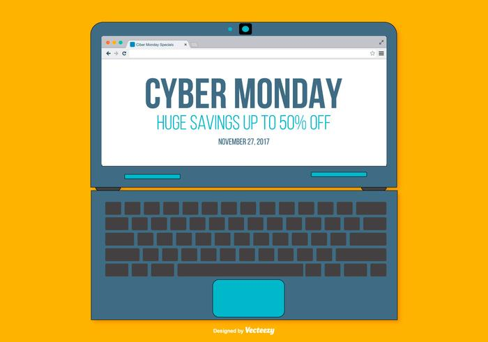 Illustration promotionnelle Cyber ​​Monday