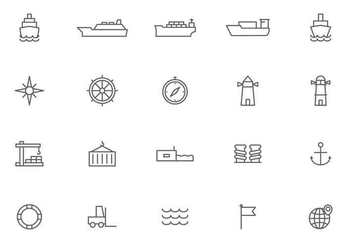 Vectores libres del puerto