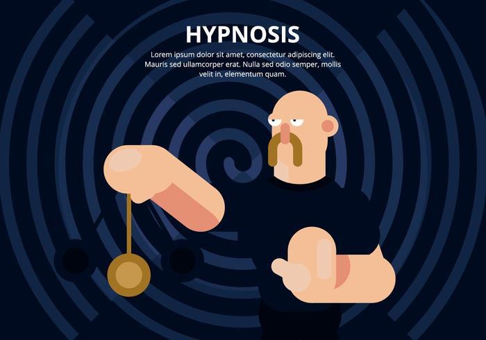 Illustrazione di ipnosi