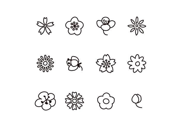 Bloemen Doodles