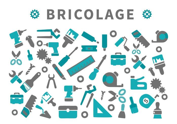Gratis DIY Tools Pictogrammen Vector