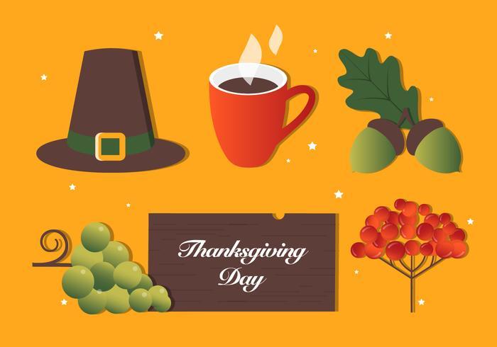 Gratis Thanksgiving Vector Achtergrond