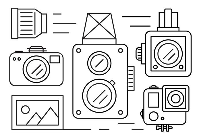 Free Linear Camera Icons