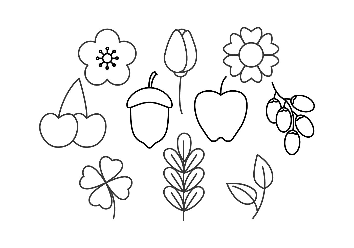 Line Art Flower Vector : Free floral line icon vector download art