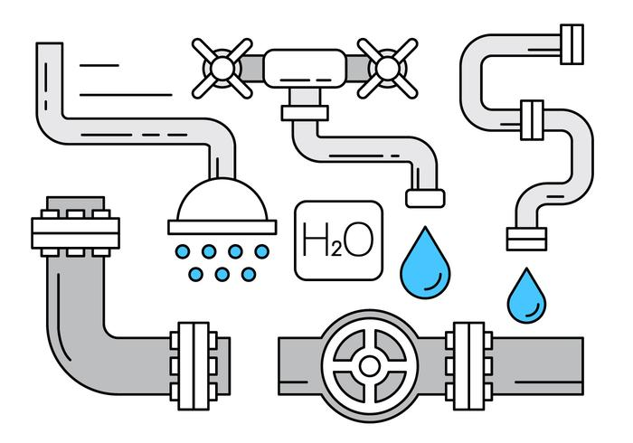 Free Vectors About Plumbing