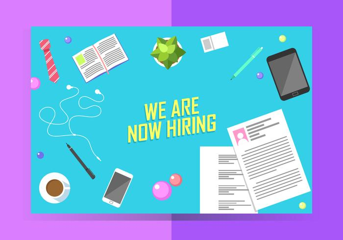 We Are Now Hiring Poster Template Free Vector Download Free Vector
