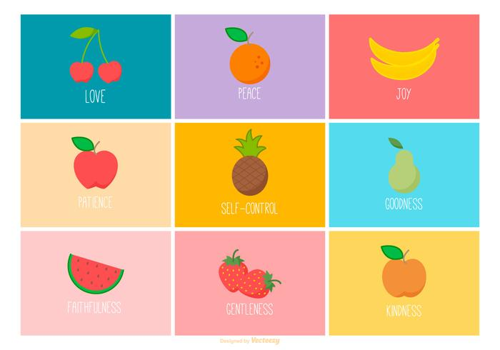 Fruit van de Geest Icon Collection