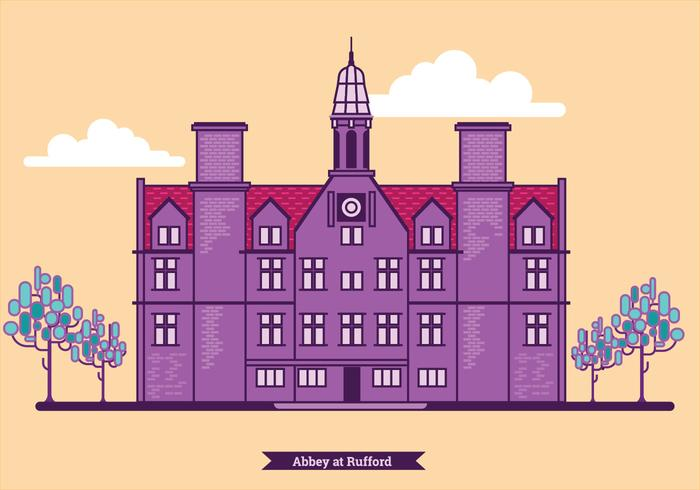 Illustration of Abbey at Rufford