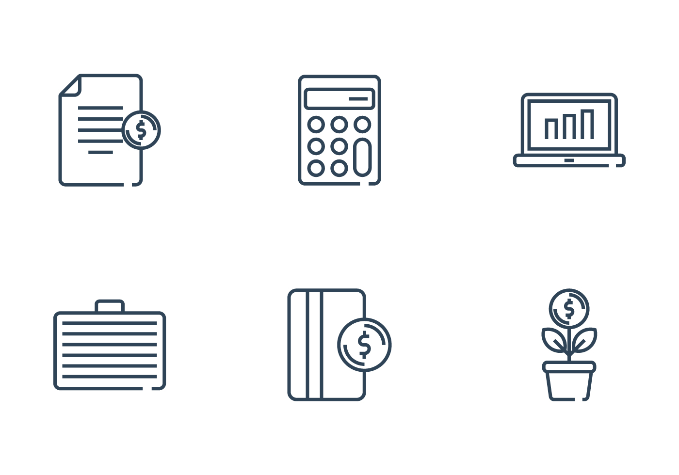 payroll and finance icon