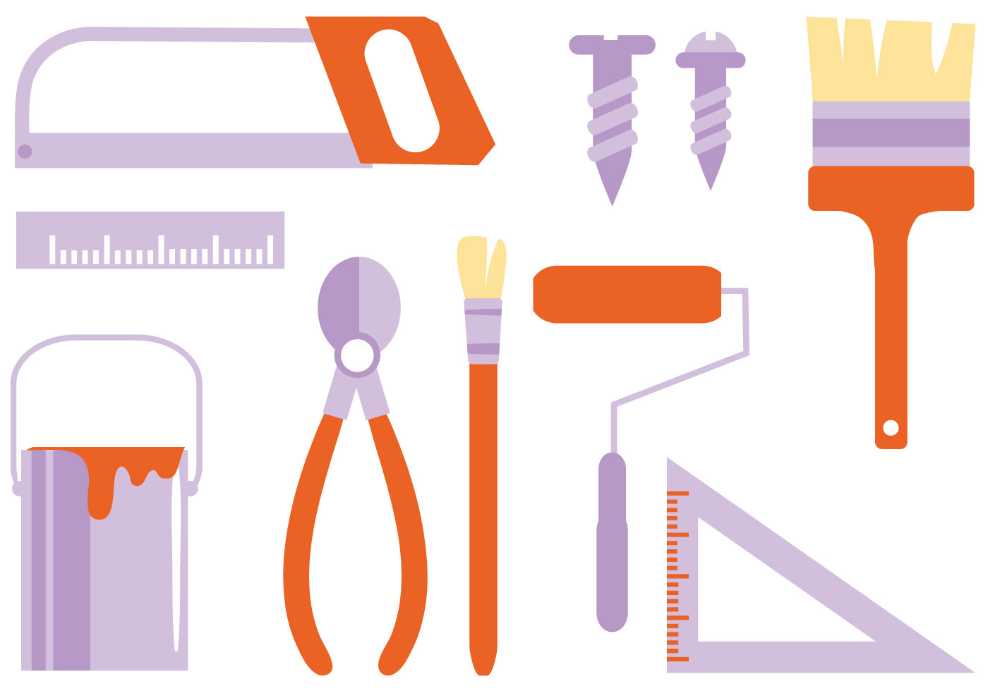 Free bricolage 2 vectors download free vector art stock - Clipart bricolage ...