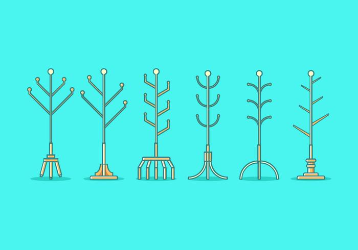 Free Coat Stand Vector