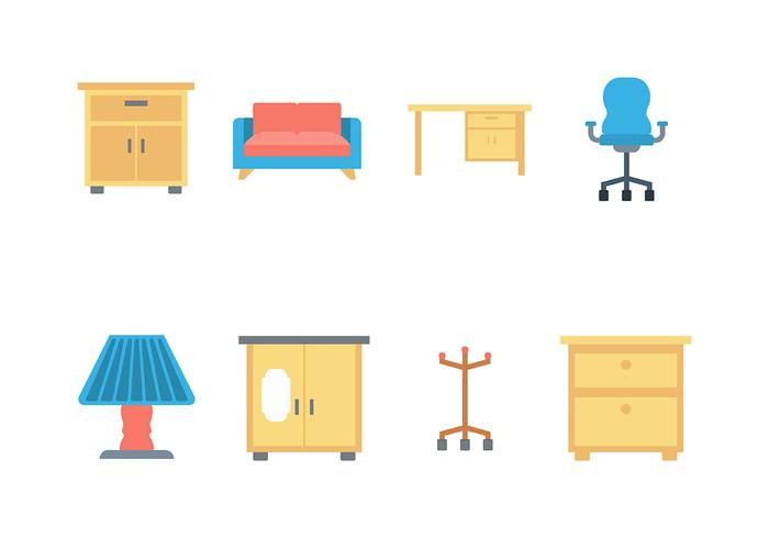 Flat Furniture Icon