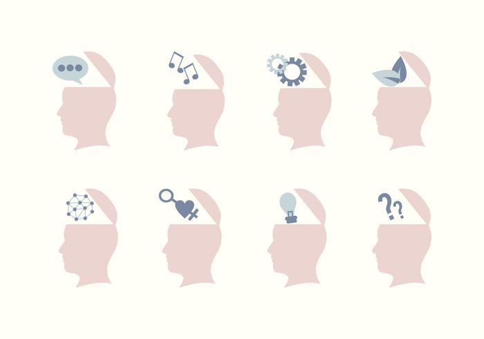 Öppna Mind-ikoner