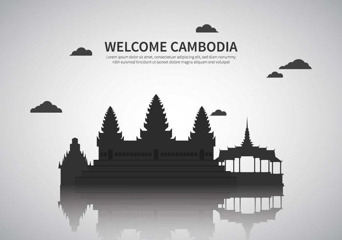 Ilustração livre de Camboja