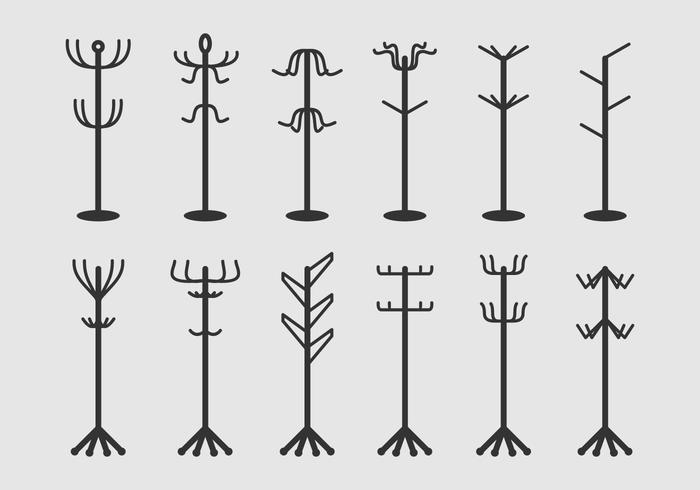 Coat Stand Icons