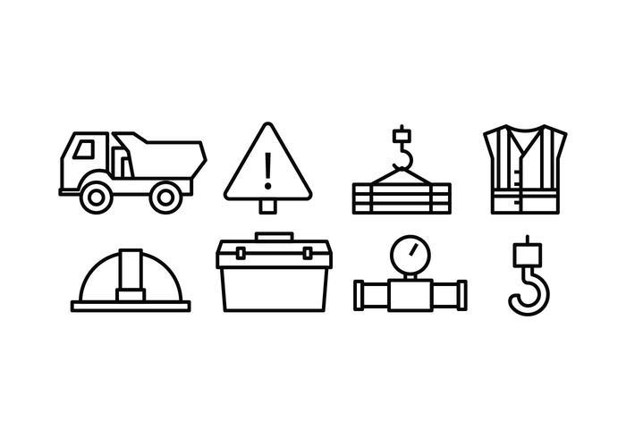 Konstruktion Icon Set