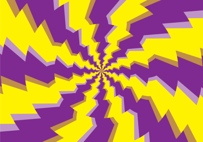 Psychedelic Round Hypnosis Illusion