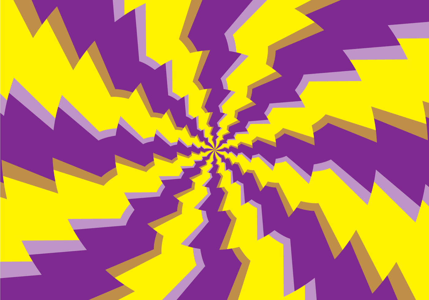 Psychedelic Round Hypnosis Illusion - Download Free Vector Art ...