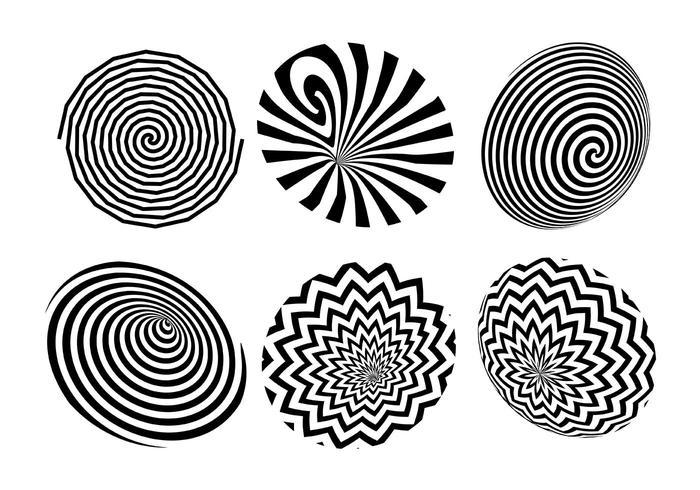 Hypnosis Vector Icon Set