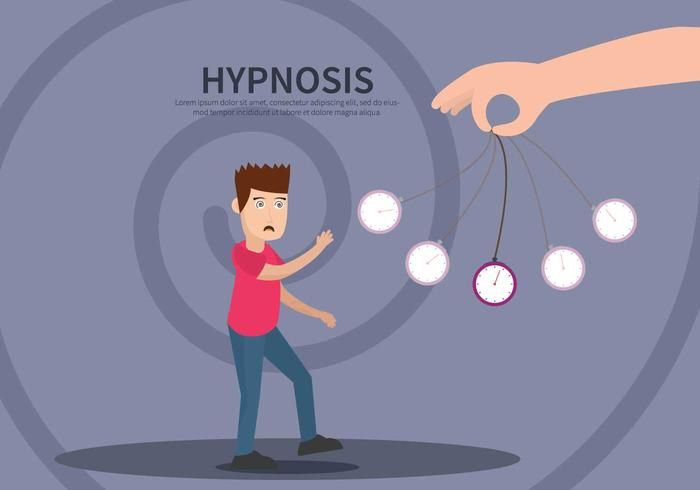 Gratis hypnosillustration