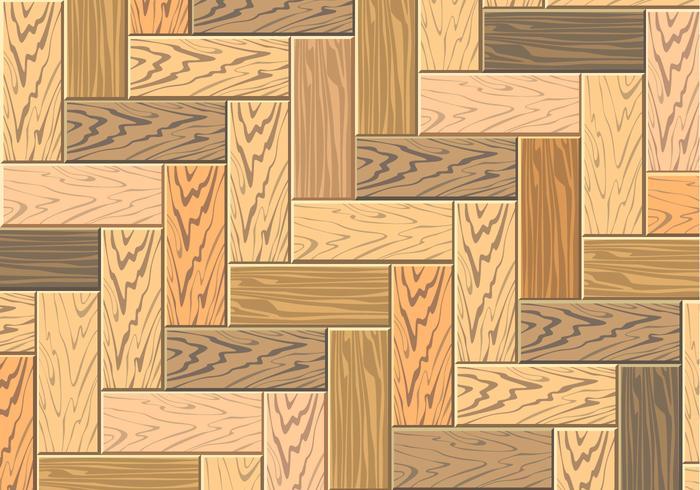 Parquet de madeira Free Vector