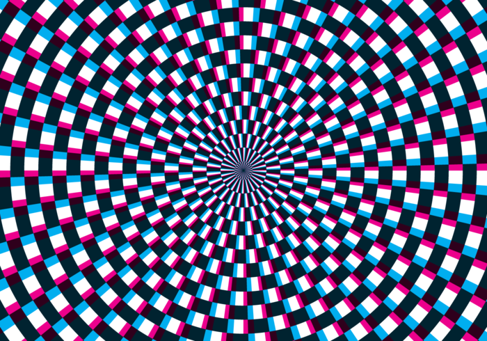 Hypnosis Optical Illusion