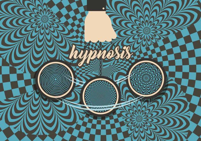 Hypnosis Background Vector