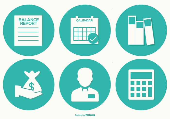 Accounting Vector Icon Collection