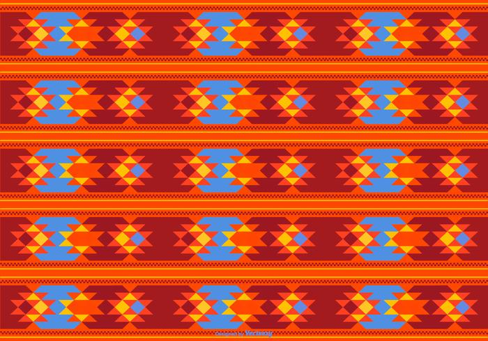 Beautiful Dayak Style Pattern Background