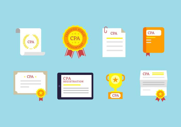 Free Outstanding CPA Icons vector