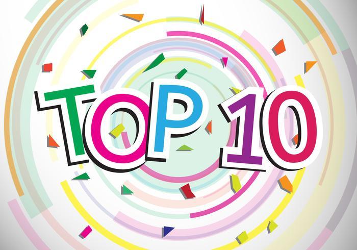 Top 10 design vector