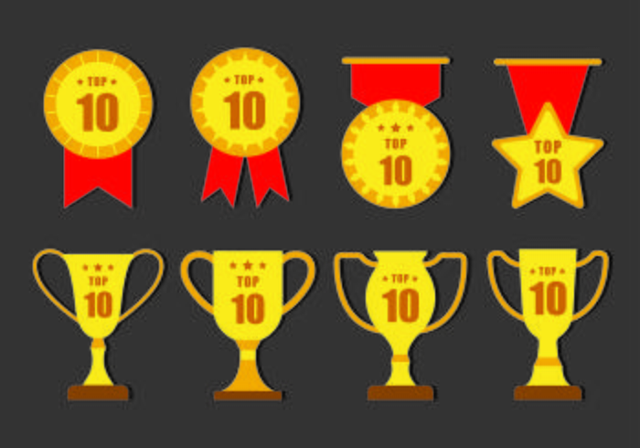 TOP 10 Vector Badges