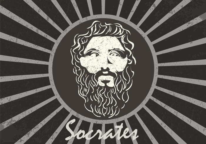 Figure Of Socrates Background