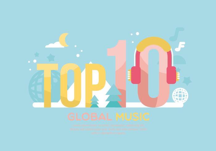 Top 10 Illustration vector