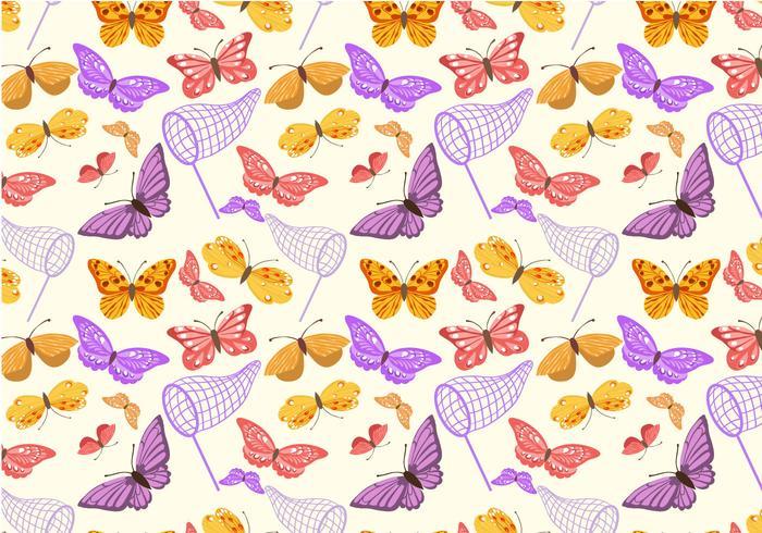 Free Butterfly Pattern Vectors