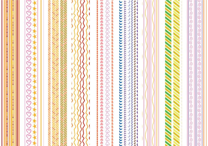Free Stripes Patterns Vectors