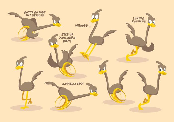 Free Roadrunner Vector Collection