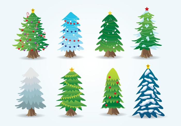 Free Cartoon Christmas Tree