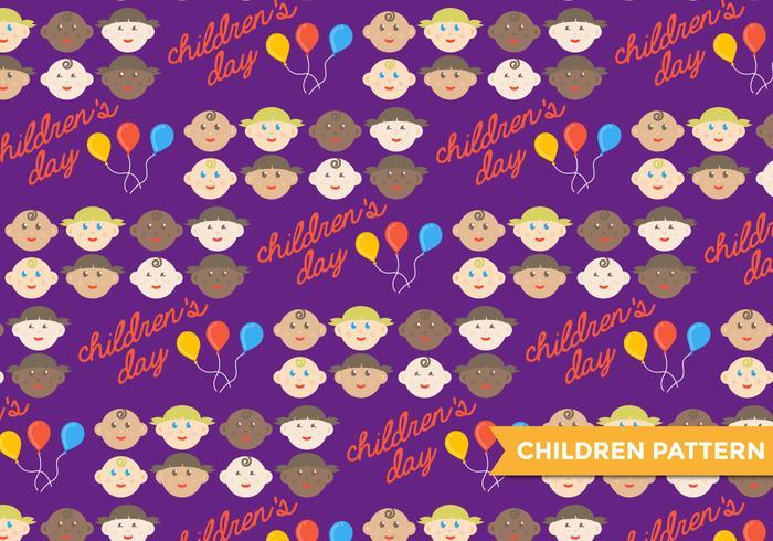 Children's Day Vector Pattern