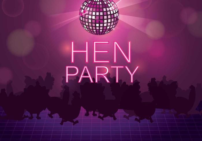 Free Hen Party Illustration
