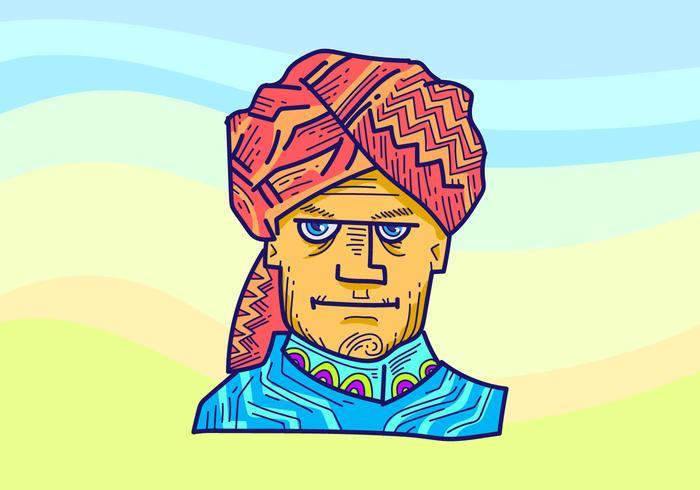 Turban Vector Illustration