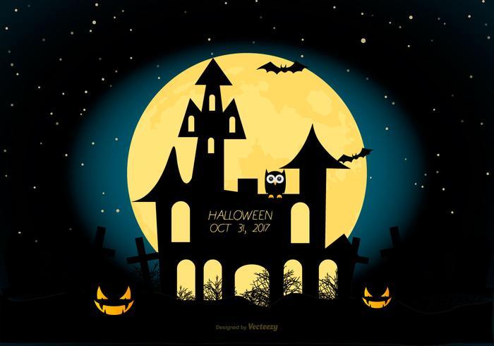 illustrazione di halloween spettrale