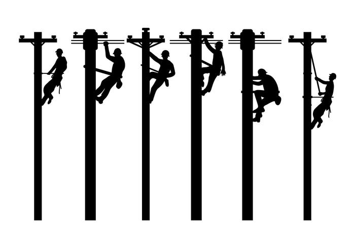 Lineman vector set