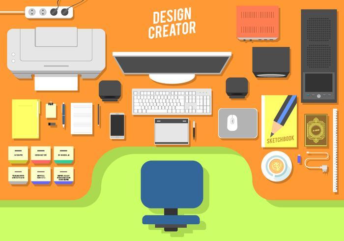 Design Creator Free Vector