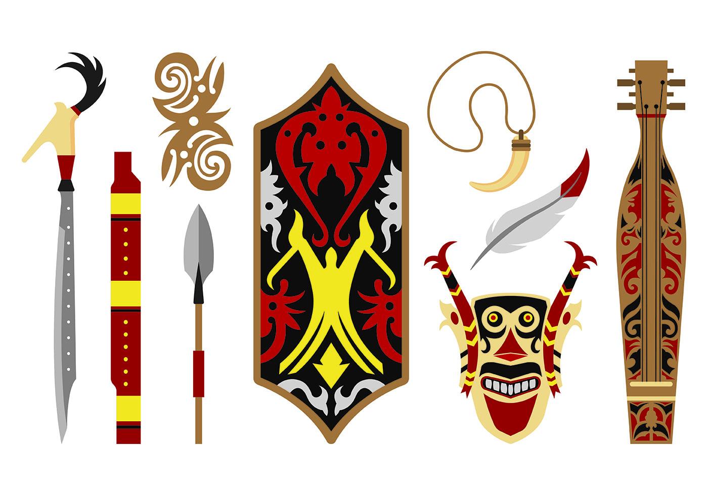 Conjunto De Iconos De Dayak Descargue Gr 225 Ficos Y