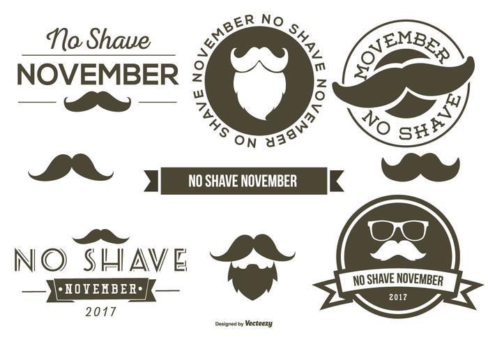 No Shave November Elements