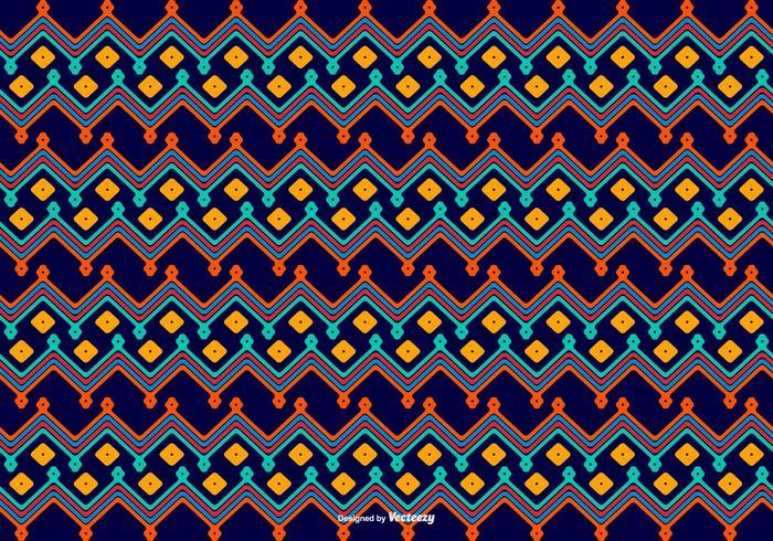 Dayak Style Pattern Background