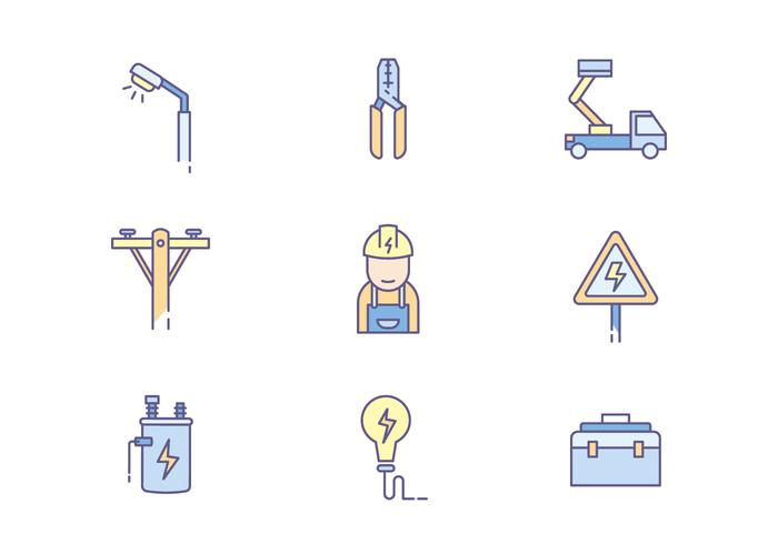 Lineman Icons